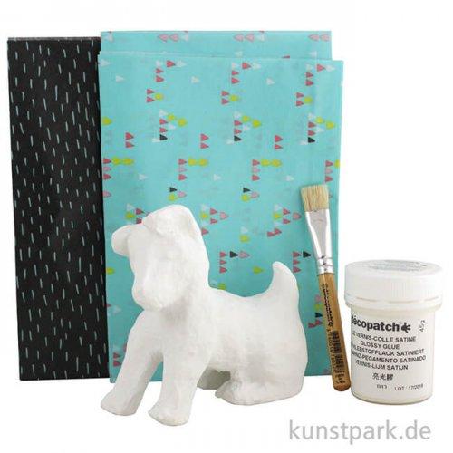 DECOPATCH Kit Mini - Hund mit Zubehör