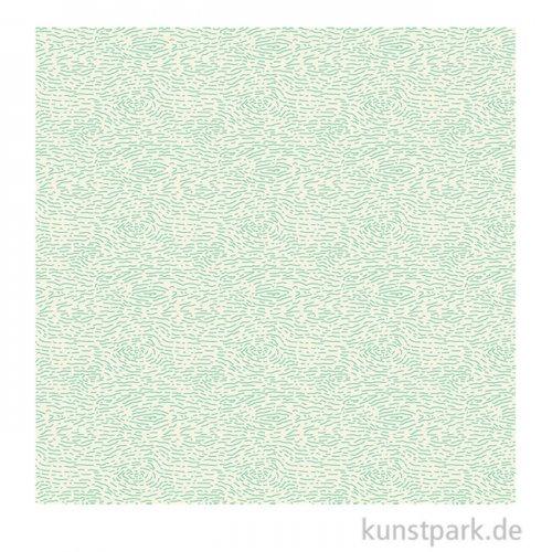 DECOPATCH Papier 737 Grün, 3 Stück