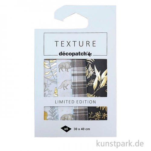 DECOPATCH Texturpapier Kollektion Wild - LIMITED EDITION
