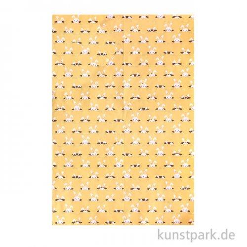 DECOPATCH Texturpapier 781 - Hasen-Metallic