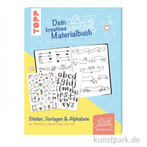 Dein kreatives Bullet-Journal-Materialbuch, Topp Verlag