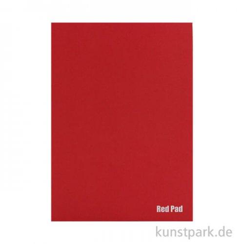 Der Rote Block - Skizzenpapier, rau, 50 Blatt, 120g DIN A3