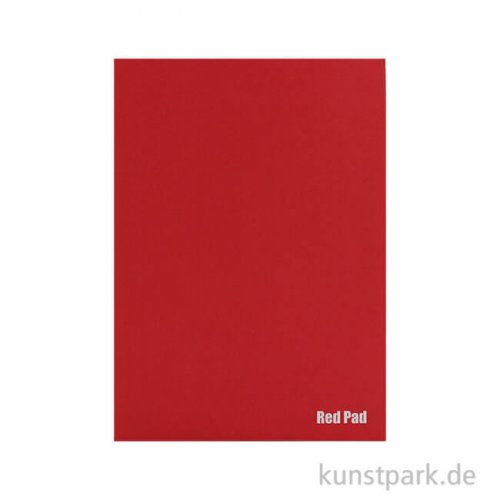 Der Rote Block - Skizzenpapier, rau, 50 Blatt, 120g DIN A4