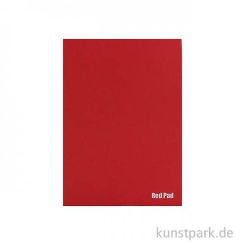 Der Rote Block - Skizzenpapier, rau, 50 Blatt, 120g DIN A5