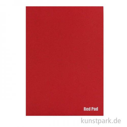 Der Rote Block - Skizzenpapier, rau, 50 Blatt, 120g