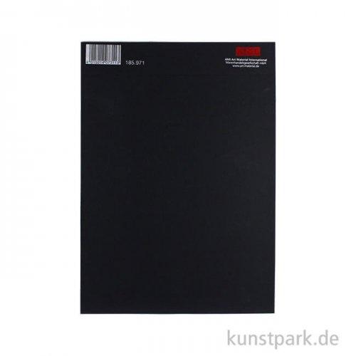 Der Schwarze Block No.1 aus schwarzem Tonpapier, 120g DIN A4 - 20 Blatt