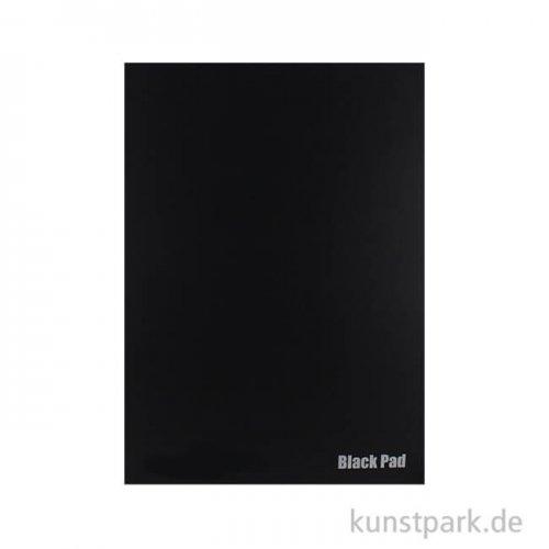 Der Schwarze Block No.2 aus schwarzem Fotokarton, 10 Blatt, 300g DIN A3
