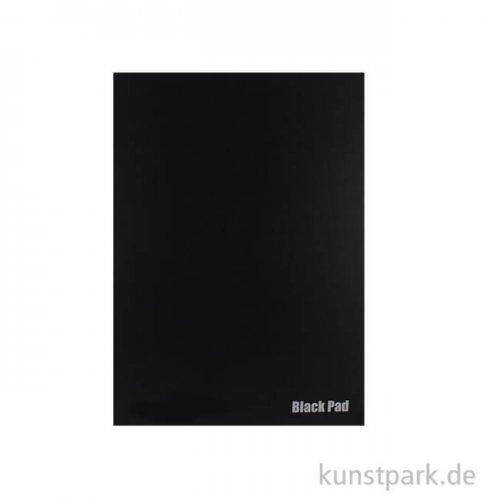 Der Schwarze Block No.2 aus schwarzem Fotokarton, 10 Blatt, 300g DIN A4