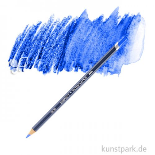 Derwent WATERCOLOUR Aquarellstift einzeln Stift | 32 Spectrum Blue