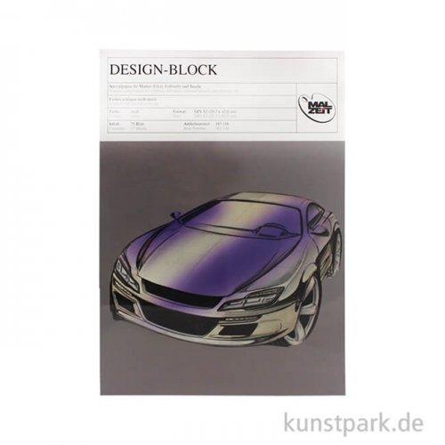 Design-Block für Marker, 75 Blatt, 70g DIN A4