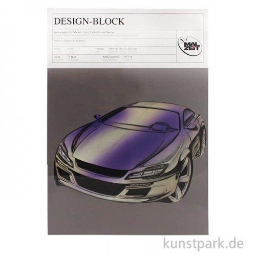 Design-Block für Marker, 75 Blatt, 70g
