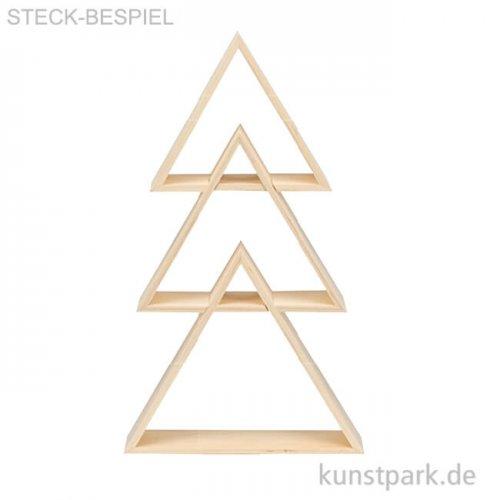 Design Rahmen Dreieck, 3 Stück sortiert