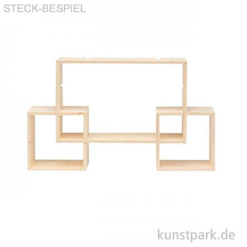 Design Rahmen Rechteck klein, 3 Stück sortiert