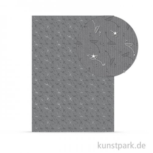Designkarton Kondolenz- Zeichen, DIN A4, 200 g