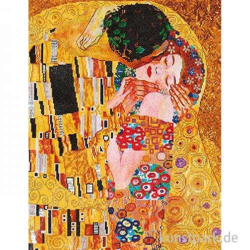 DIAMOND DOTZ Der Kuss, Klimt, Größe etwa 71,1 x 55,9 cm