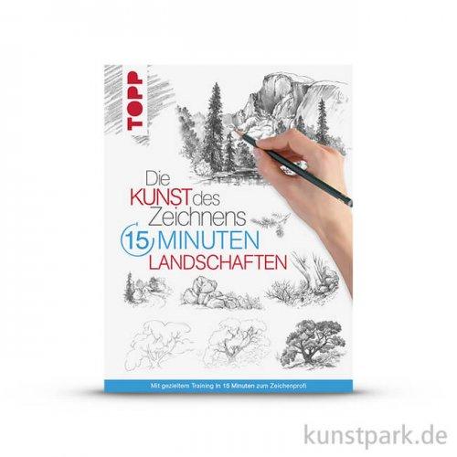 Die Kunst des Zeichnens 15 Minuten - Landschaften, Topp Verlag