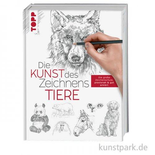 Die Kunst des Zeichnens - Tiere, Topp Verlag
