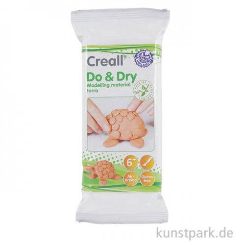 Creall DO+DRY Modelliermasse - terracotta