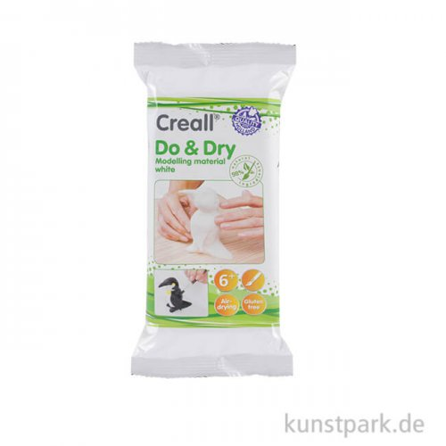 Creall DO+DRY Modelliermasse - weiss 500 g