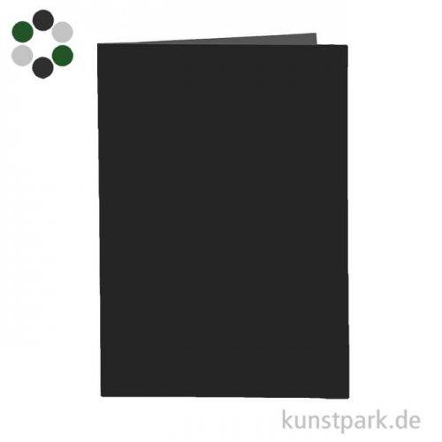 Doppelkarte aus Karton, 10,5x15 cm