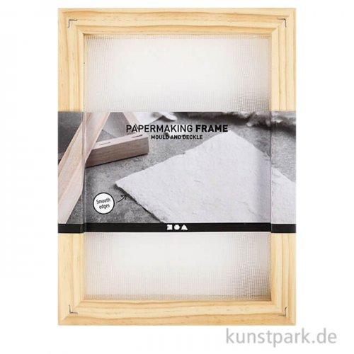 Doppelrahmen zum Papierschöpfen, DIN A5