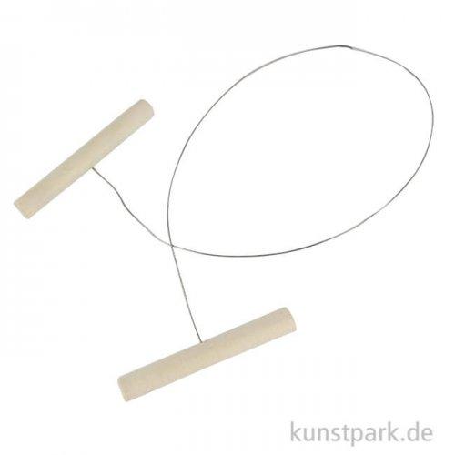 Drahtschlinge und Tonabschneider, Länge 50 cm