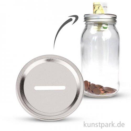 Einlegescheibe für Gläser, 70 mm - Spardose