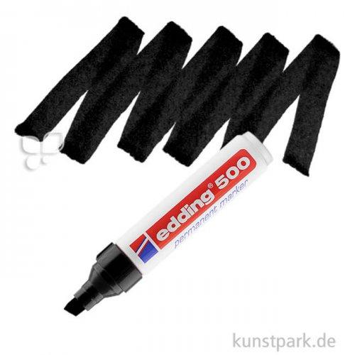 edding 500 Permanent Marker Einzelfarbe | 001 Schwarz