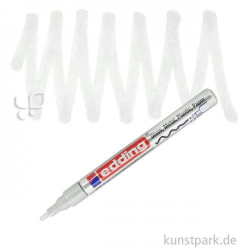 edding 751 Lack Marker Einzelfarbe | 049 Weiß