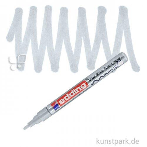 edding 751 Lack Marker Einzelfarbe   054 Silber
