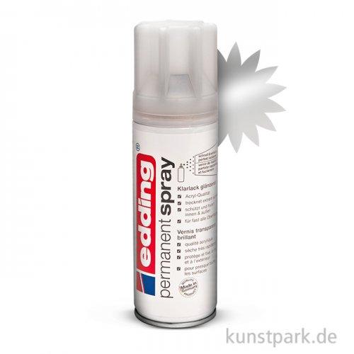 edding Permanent Spray - Klarlack Glanz, 200 ml