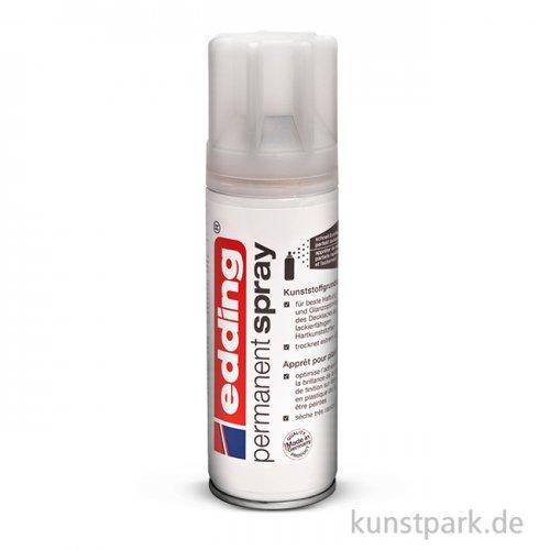 edding Permanent Spray - Kunststoffgrund klar, 200 ml