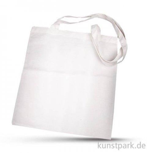 Einkaufstasche aus Baumwolle - Weiß, 38x42 cm