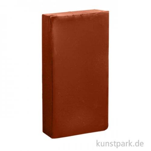Encaustic Farbe Wachsblock   56 Rotbraun