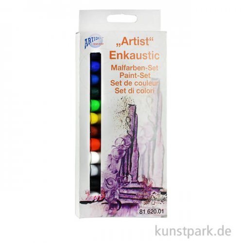 Encaustic Farben-Set - Artist - mit 14 Farben