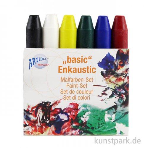 Encaustic Farben-Set - Basic - mit 6 Farben