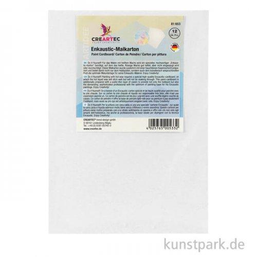 Encaustic Malplatte - Set DIN A4 - 12 Blatt