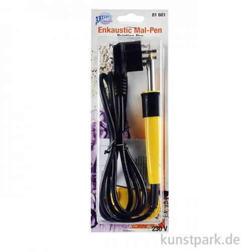 Encaustic Pen mit Mal- und Zeichenspitze