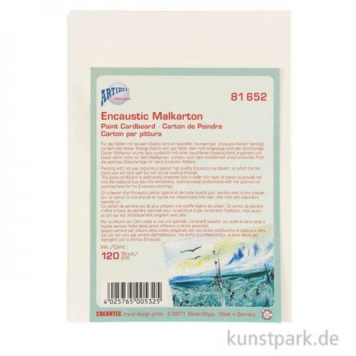 Encaustic Malplatte - Großpackung DIN A4 - 50 Blatt