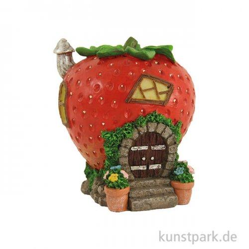 Erdbeerhaus für Feen 10,5 cm