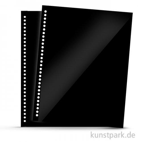 Ersatzhüllen Polyester für Spiralalben, 10 Stück