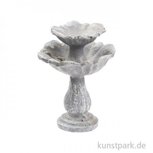 Etagen-Brunnen in Steinoptik, 6,5 cm