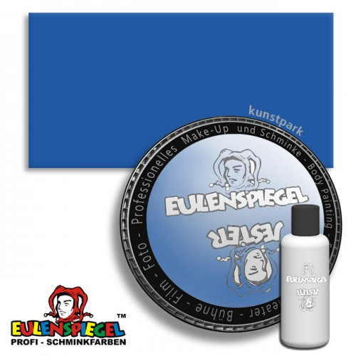 Eulenspiegel Profi-Aqua Liquid Körperfarbe 50 ml   Himmelblau
