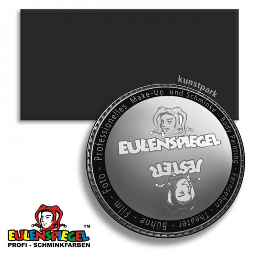 Eulenspiegel Profi-Aqua Körpermalfarbe 20 ml | Schwarz