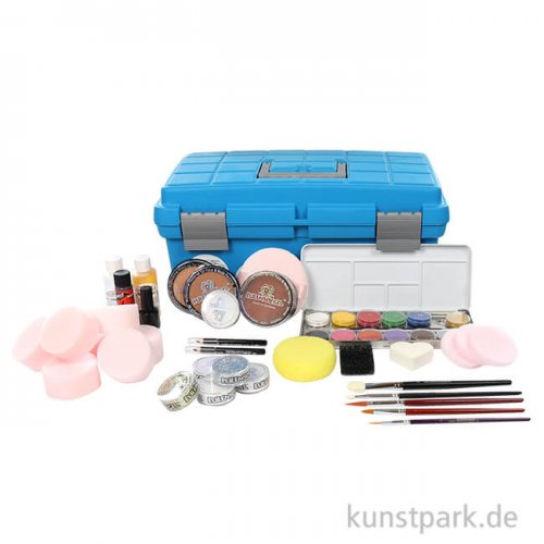 Eulenspiegel Theater Schmink-Koffer mit umfangreichem Zubehör