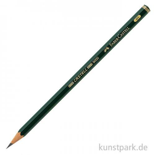 Faber-Castell 9000, Bleistift einzeln hart - 4H