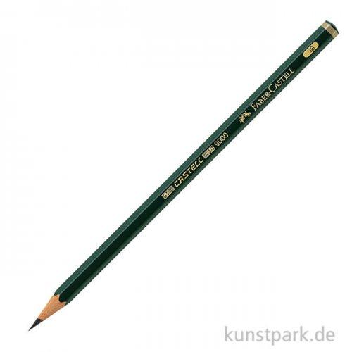 Faber-Castell 9000, Bleistift einzeln weich - 3B