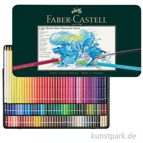 Faber-Castell ALBRECHT DÜRER, 120 Aquarellstifte im Metalletui