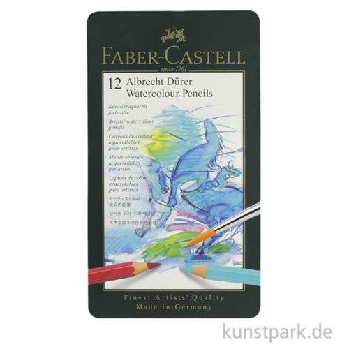 Faber-Castell ALBRECHT DÜRER, 12 Aquarellstifte im Metalletui