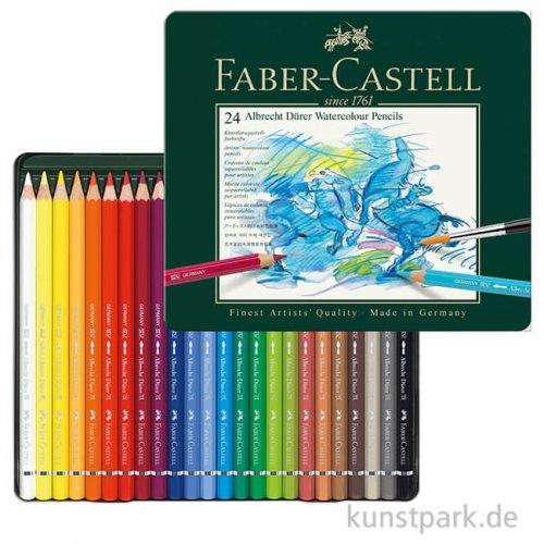 Faber-Castell ALBRECHT DÜRER, 24 Aquarellstifte im Metalletui